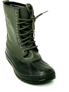 SOREL 1964 Premium Dark Green/ Black Men's Winter Boots Size US.9 EU.42 UK.8