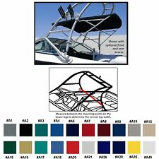 SUNBRELLA  BOAT BIMINI TOP FOUR WINNS H-190 W/ WAKEBOARD TOWER ARCH 2012