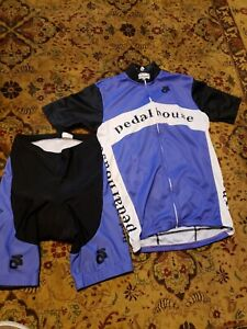 PEARL IZUMI CYCLING JERSEY & COMPRESSION SHORTS S