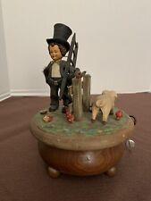"Vintage Anri Thorens Mechanical Music Box Chimney Sweep ""wonderful Copenhagen """