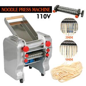 USA Commercial Electric Dough Roller Sheeter Noodle Pasta Dumpling Maker Machine
