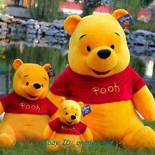 Best Gift New Giant Plush Winnie Pooh Cute Bear Kids Cartoon Doll Toy Raccoon