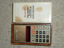 Vintage Litronix 1102 Electronic Pocket Calculator w/ Percent