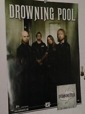 Drowning Pool Tour date poster BLANK