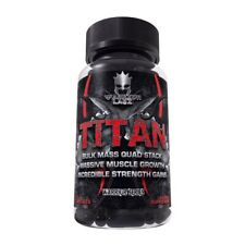 Warrior Labz TITAN Bulk Mass Quad Stack Massive Muscle Growth, 90 Capsules
