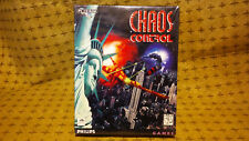 Chaos Control: new sealed PC CD-ROM: Philips Games 1995