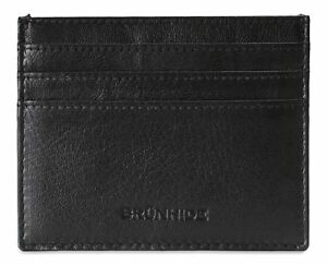 Brunhide Slim Leather Card Holder Wallet - RFID - Outer ID Window # 254-300