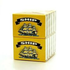 SHIP MATCHES PACKS FOR COOKING BBQ CAMPING CANDLES 32 STICKS EACH MATCHBOX