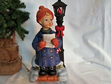 Sale Melody In Motion Christmas Caroler Boy Limited Edition 1585/10000