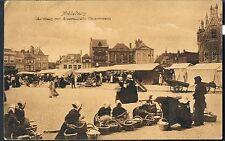 Middelburg Marktdag Netherlands Vintage Postcard C1910  - ISLIP