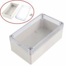 Waterproof Enclosure Case Clear Cover Plastic Diy Electronic Project Box