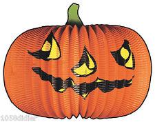 Lampion grosse CITROUILLE Papier Décoration de Salle Halloween 40cm