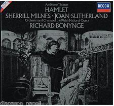 Thomas: Hamlet / Bonynge, Milnes, Sutherland - LP DECCA