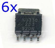 6x RJK0330DPB-01 - MOSFET N-CH 30V 45A - LFPAK - Rds On 2.1 mOhm -