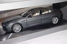 BMW 650i GT F06 2013 space grau 1:18 Paragon neu & OVP 97031