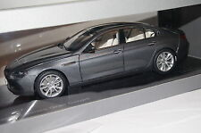 BMW 6er Gran Coupe F06 2013 space grau 1:18 Paragon neu & OVP 97031