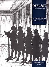 DEBUSSY CHILDREN'S CORNER WOODWIND QUINTET CHILDREN & FAMILY MUSIC BOOK
