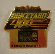 1998 Brickyard 400 The Star & The News Collector Sponsors Pin Indy Nascar