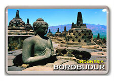 BOROBUDUR INDONESIA FRIDGE MAGNET SOUVENIR NEW IMÁN NEVERA