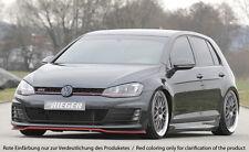 Rieger Front alerón espada para VW Golf 7 GTI/GTD