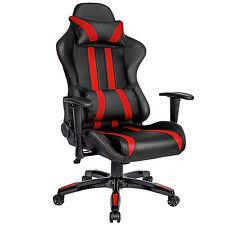 Racing Bürostuhl Sportsitz Chefsessel Drehstuhl Büro Sessel schwarz rot B-Ware