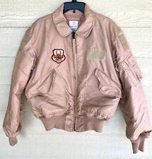 Usaf Tan Nomex Fire Resistant Cold Weather Flyers Men's Cwu-45/p Jacket - Large