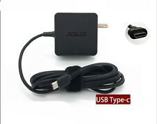 Genuine ASUS 65W US Type C Power Adapter Charger 20V 3.25A 15V 3A 12V 3A 5V 2A