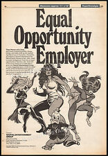 MARVEL ENTERTAINMENT__Original 1980 Trade AD / poster__HOWARD THE DUCK__SHE-HULK