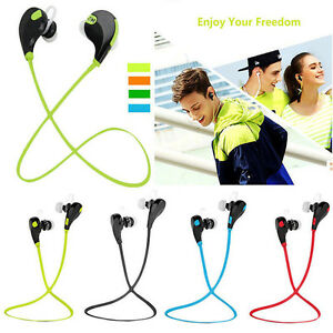 Wireless Bluetooth Headset Stereo HD Headphone Earphone Sport Handfree Universal