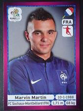 Panini 473 Marvin Martin Frankreich EURO 2012 Poland - Ukraine