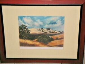 Dawvilles Mountain CA 2003 by Catherine McClare Lindberg Signed By Artist Frame