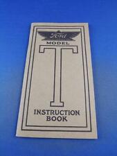 FORD MODEL T CARS INSTRUCTION BOOK MANUAL REPRINT MARCH 1954