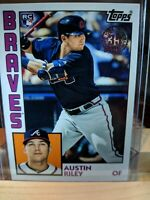 2019 TOPPS UPDATE AUSTIN RILEY 1984 TOPPS 35TH ANNIVERSARY - RC
