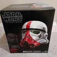Hasbro Star Wars The Black Series Incinerator Stormtrooper Electronic Helmet
