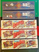 1991 & 1992 Donruss Baseball Hobby Box (Lot of 5) Sealed Complete Sets!