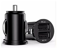 Car Charger - Low Profile - 4.8A - Dual USB Pack of 2