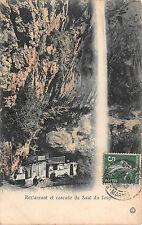 Restaurantes y Cascada del Salto del Lobo