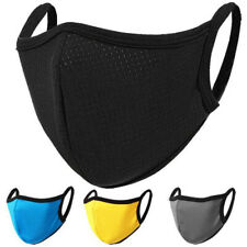 2 PCs Facemask, Fashion Washable & Reusable, Breathable, Unisex Face Mouth Cover