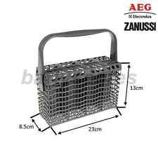 Genuine AEG, Electrolux, Zanussi Dishwasher Cutlery Basket Grey  24 x 23 x 8 cm