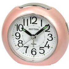 RHYTHM Wecker Uhr Alarm Weiss CRE872NR13