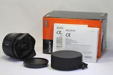 AS IS Sony 16mm F/2.8 Fisheye SAL16F28 AF Lens