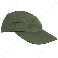 Tactical Baseball Cap - Olive Green Sun Peak Hat Military Army Airsoft Soldier
