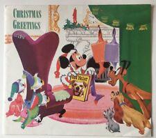 1957 Walt Disney Christmas Card