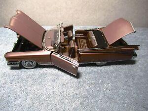Danbury Mint 1959 Cadillac El Dorado Biarritz Convertible 2468/5000 Limited Ed.
