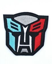 Superhero Transformers AUTOBOT Embroidered Iron On / Sew On Patch 148