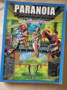 Flashbacks paranoia sci-fi roleplaying RPG book MGP mongoose