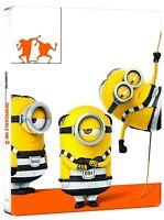 CATTIVISSIMO ME 3 STEELBOOK (BLU-RAY + DVD) EDIZIONE SPECIALE MINIONS