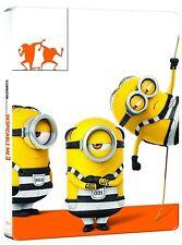 CATTIVISSIMO ME 3 EDIZIONE STEELBOOK (BLU-RAY + DVD) EDIZIONE SPECIALE MINIONS