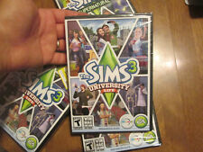 THE SIMS 3 UNIVERSITY LIFE PC EXPANSION PACK  BRAND NEW FACTORY SEALED