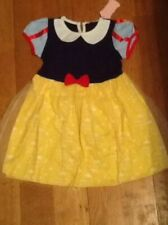 SNOW WHITE GIRLS FANCY DRESS WITH ACCESSORIES BNWT AGE 4-5 WORLD BOOK DAY